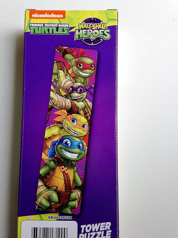 Amazon.com: Teenage Mutant Ninja Turtles 24 Piece Tower ...