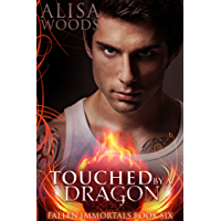 Touched by a Dragon (Fallen Immortals 6) - Paranormal Fairy Tale Romance (English Edition)