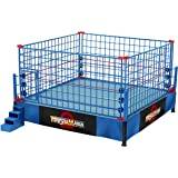 WWE Authentic Scale Ring with Steel Cage Match! (Classic Wrestle Mania version)