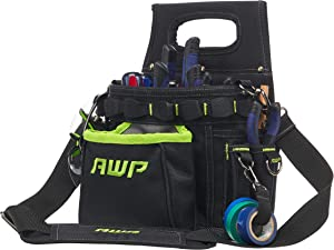 AWP TrapJaw 3-in-1 Electrician Tool Pouch, 9