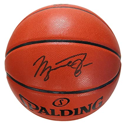 3423ea5a260 Michael Jordan Chicago Bulls Signed Autographed Spalding NBA Game Ball  Series Basketball at Amazon s Sports Collectibles Store