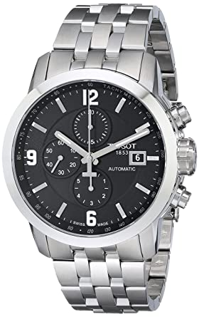 aeb2ee62b20 Image Unavailable. Image not available for. Colour  Tissot Men s  T0554271105700 PRC 200 Stainless Steel Automatic Watch