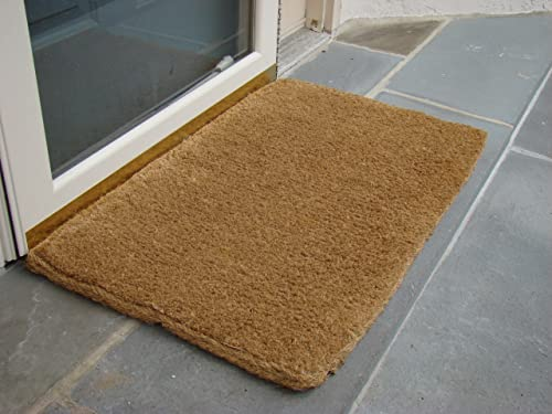 Imports Decor Coir Doormat, Plain Coco, 16-Inch by 27-Inch