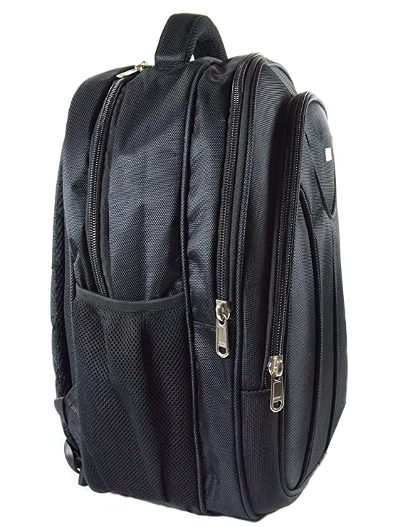 8ddde8c5554a Tangerine Laptop cum Office Travel Backpack in Black color  Amazon.in   Bags