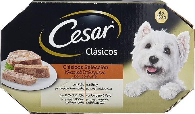 Cesar Clásicos Selección Comida para Perros con Pollo y Buey ...