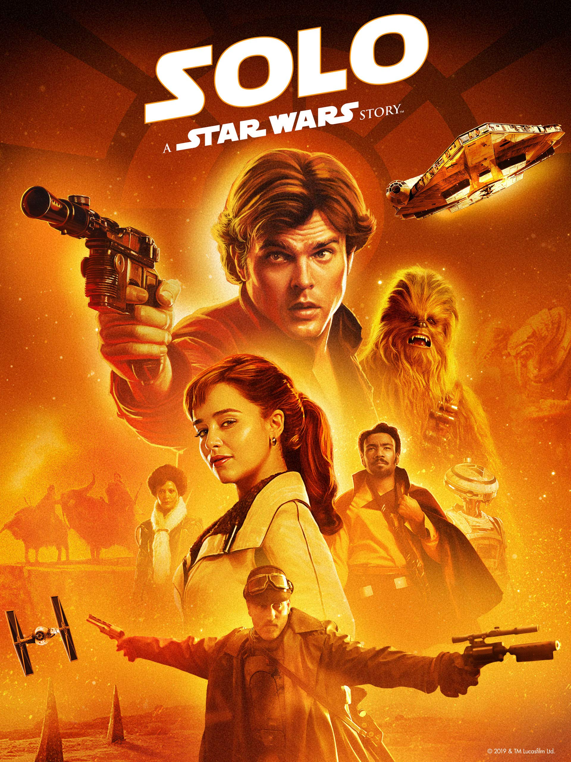 Watch Solo A Star Wars Story Theatrical Version Prime Video