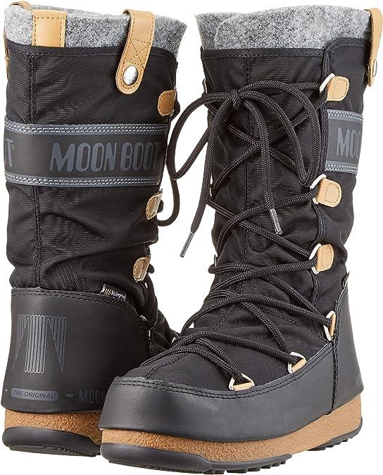 TECNICA Moonboots Moonboot Moon Boot Boots Nylon Schneestiefel W E low WP flach