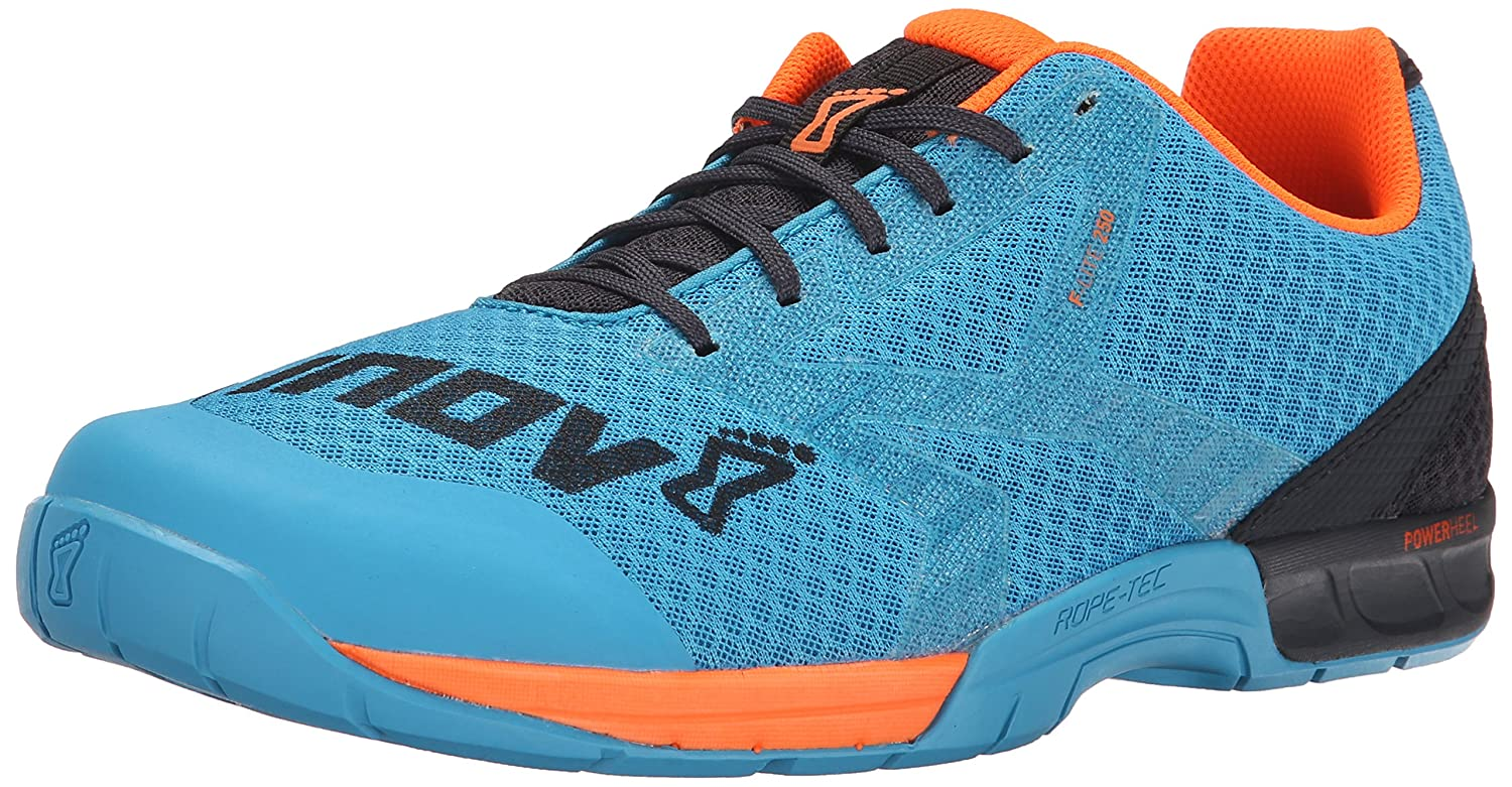 Inov-8 Men's F-Lite 250 Cross-Trainer Shoe B00YC1ZMVU 8.5 D(M) US|Blue/Grey/Orange