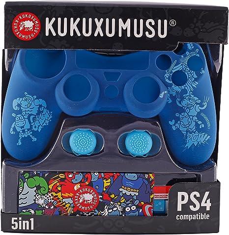 Indeca- Pack de 5 componentes para playstation 4 - PS4 (incluye ...