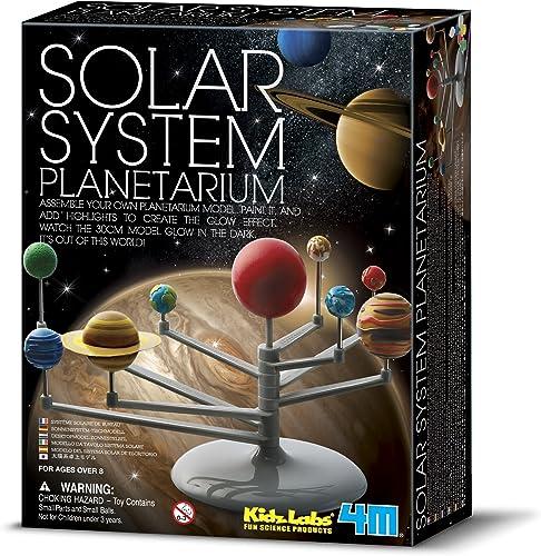 4M 3427 Solar System Planetarium—DIY Glow In The Dark