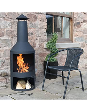 Amazon co uk: Chimineas - Outdoor Heaters & Fire Pits: Garden & Outdoors