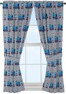 Jay Franco Thomas The Tank Engine Tech 63 Decorative Curtain Drapes 4 Piece