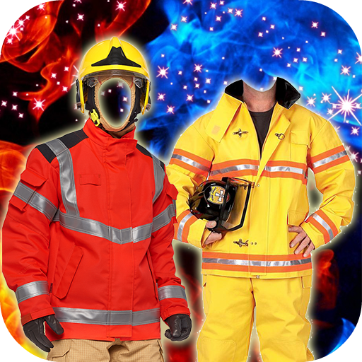 Firefighter Suit Montage - Your For Face Frames The Right Find