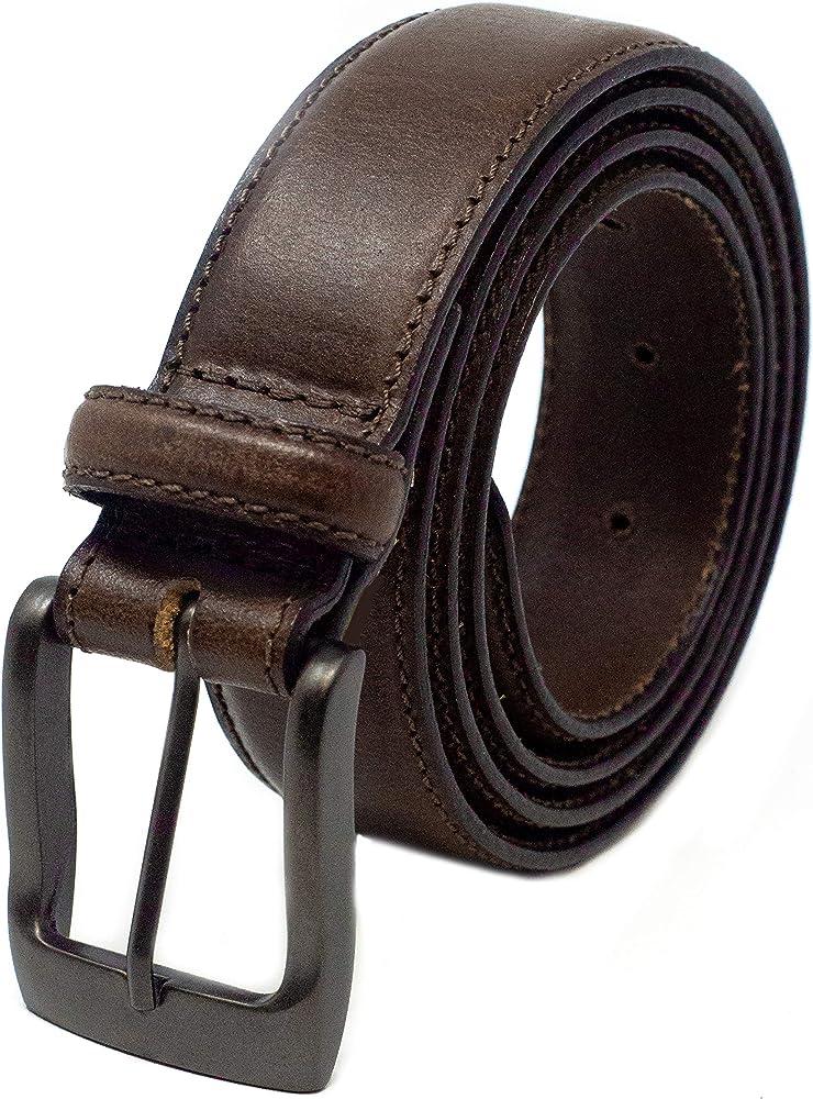 Ashford Ridge 32 mm Cinturon de Traje para hombres Hecho de cuero ...