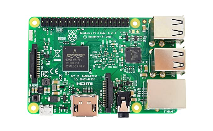 Amazon.com: Modelo B de Raspberry Pi 3 placa base ...