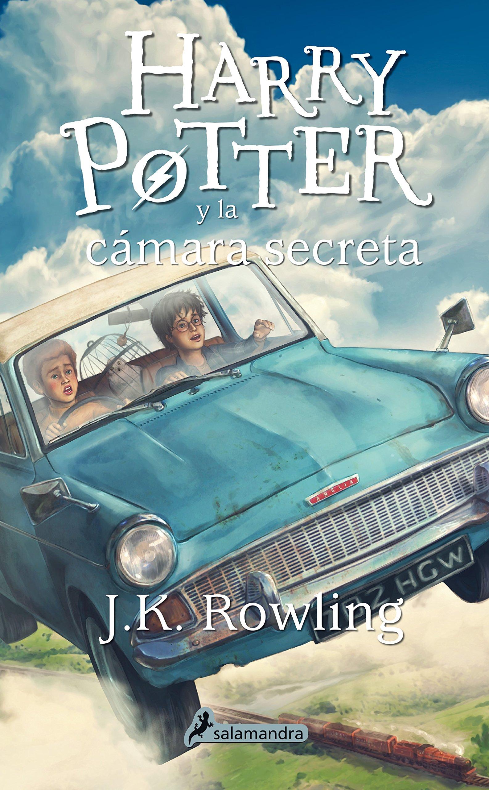 Resultado de imagen de harry potter y la cámara secreta libro