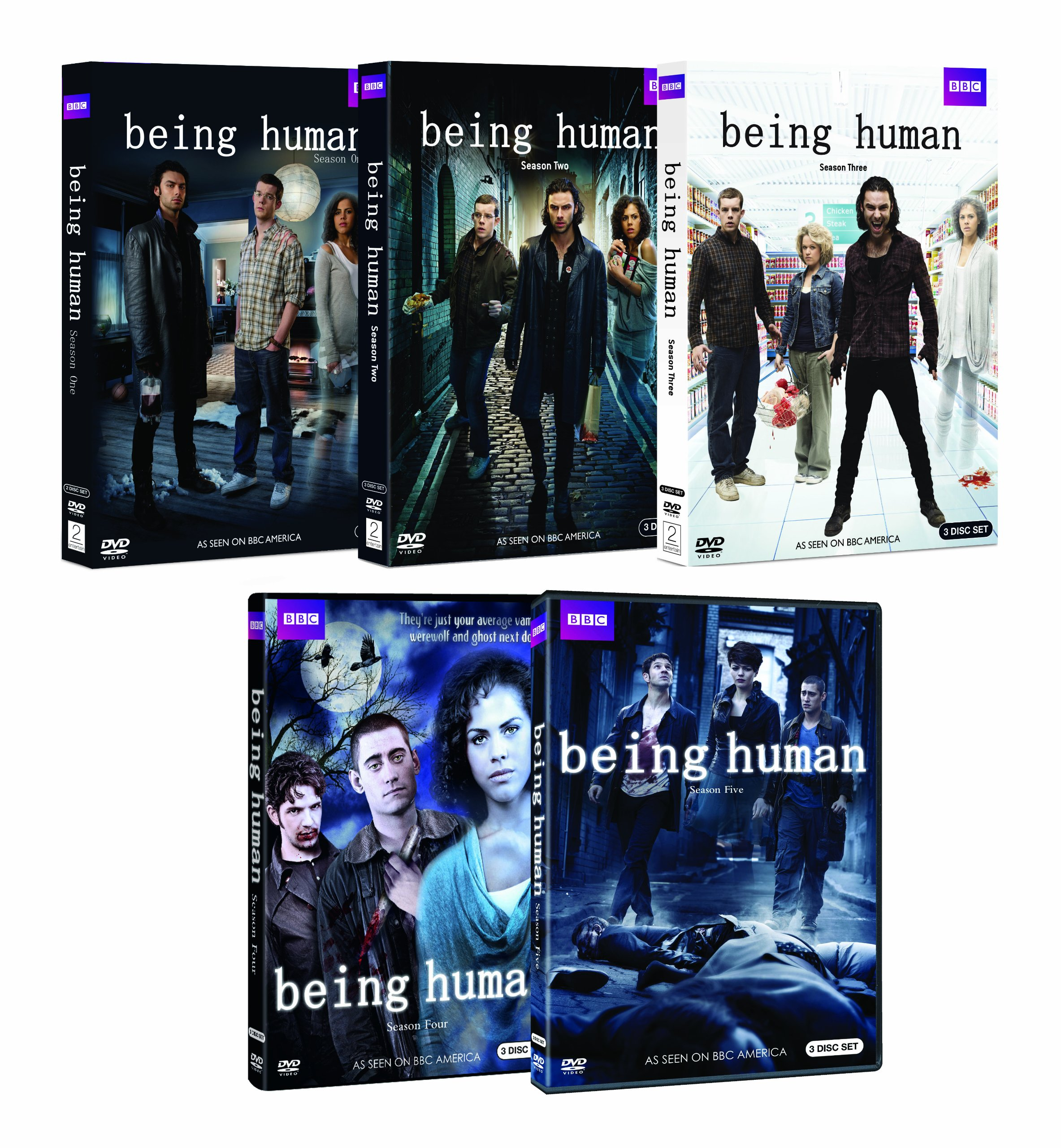 Being Human Complete Seasons 1-5 Bundle by BBC