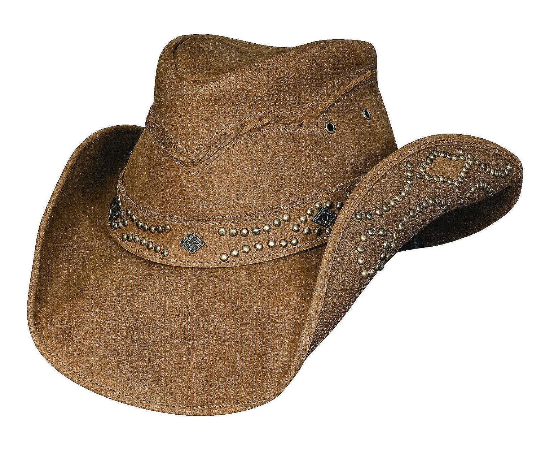 631335514 Bullhide Women's Hidden Pleasure Leather Hat - 4023
