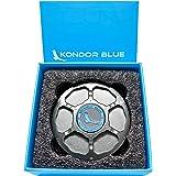 KONDOR BLUE EF Mount Camera Body Cap Metal (Space Gray) Aluminum Alloy EOS DSLR Cine Camera Port Cover