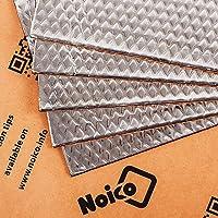 Noico 80 mil (2 mm) 5 sqft (0.46 m2) Car Sound Deadening Mat, Butyl Automotive Sound Deadener, Audio Noise Insulation…