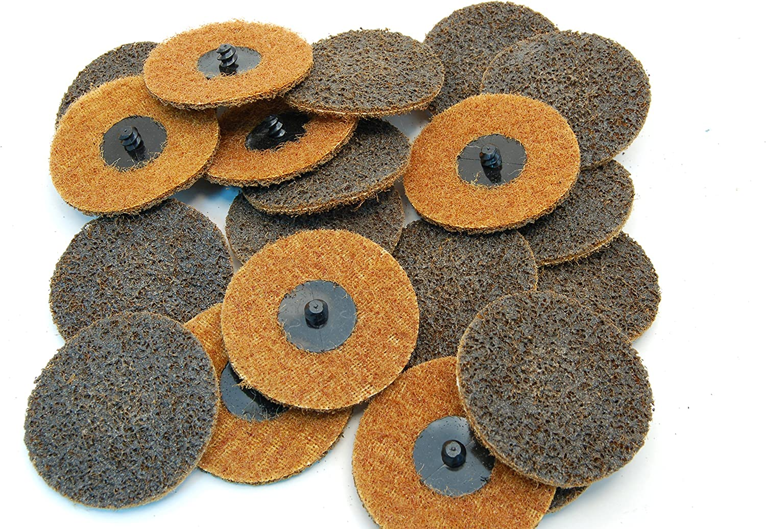 """(20Pc) Rogue River Tools 3"""" Quick-Change Surface Condition Discs (Type R) (Coarse)"""