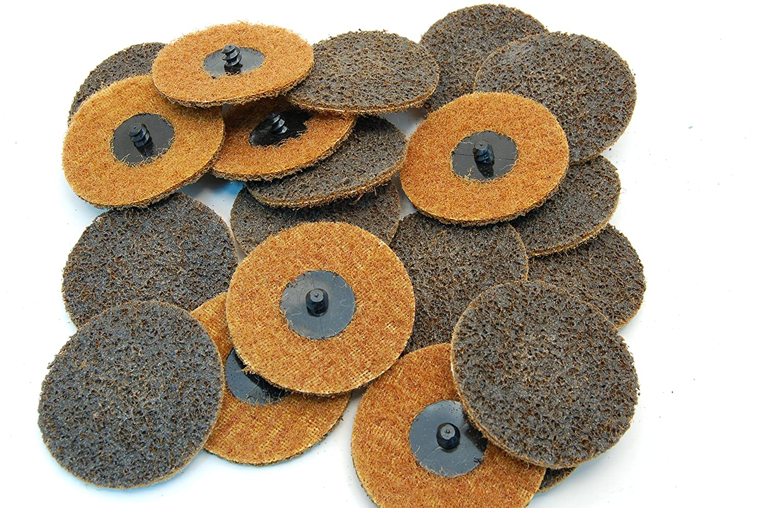 "(20pc) Rogue River Tools 3"" Quick-Change Surface Condition Discs (Type R) (Coarse) 91q6a2Bx2BfqL"