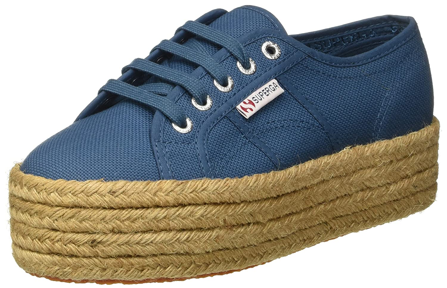 bluee Superga Women's 2790-Cotropew Trainers