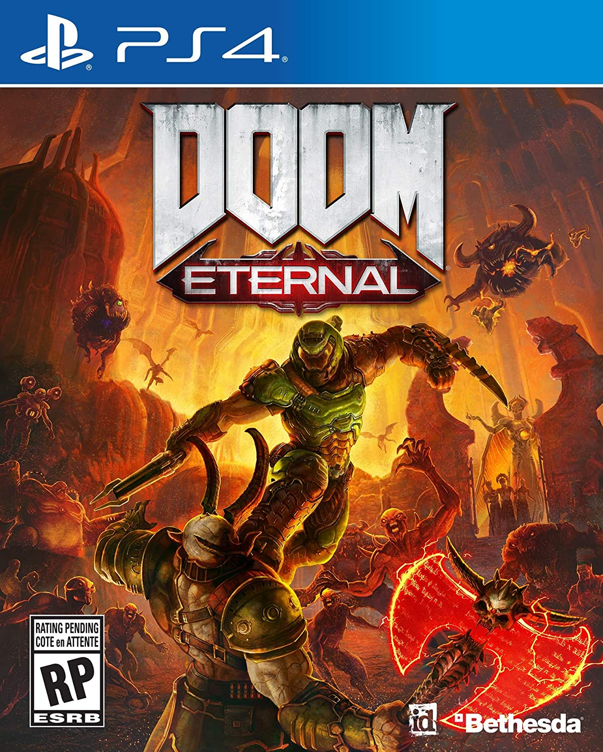 PS4 Doom Eternal: playstation_4: Computer and Video Games