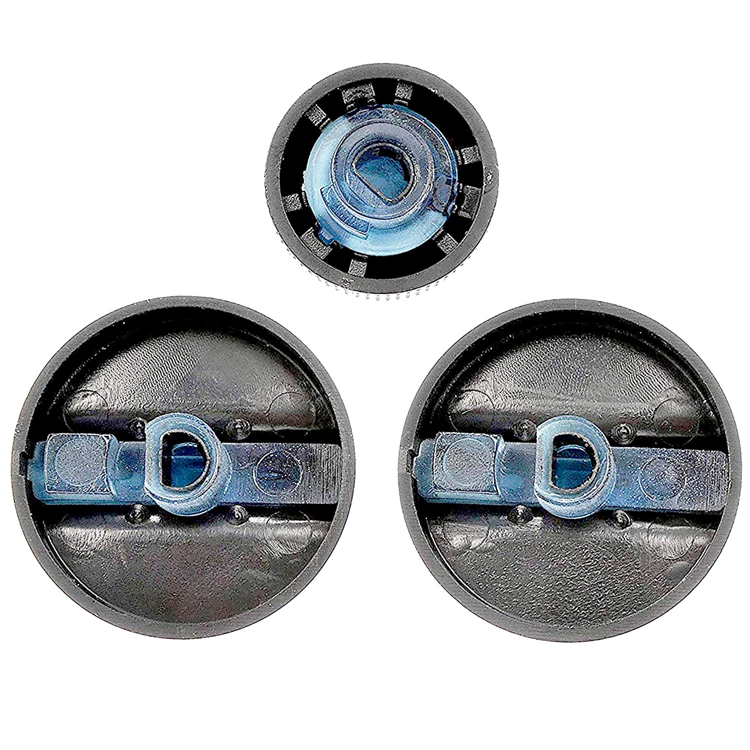 Includes 2 HVAC Control Knobs = 04882482, 1 Blower Speed Control Knob = 04882511 APDTY 117374 AC Heat HVAC Control Head Replacement Control Knob Set For 1994-1997 Dodge Ram 1500 2500 3500 Pickup