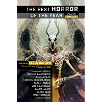 The Best Horror of the Year book cover