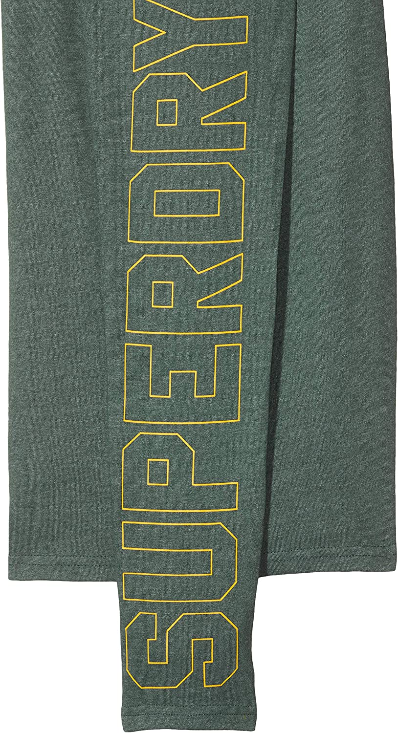 Superdry Vintage Logo Linear LS Tee Maglia a Maniche Lunghe Uomo