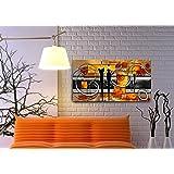 Quadro Decorativo Para Sala Abstrato Casal 55x100