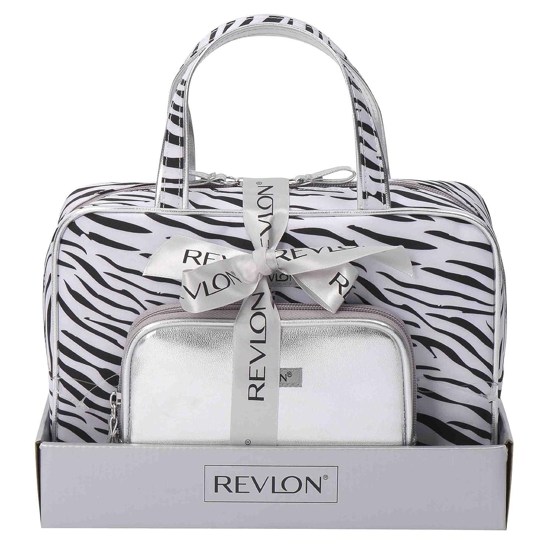 Revlon - Set di 2 trousse, fantasia zebrata Conair 61A20507PU