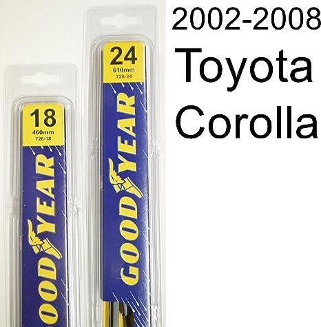 Amazon.com: Kit de escobillas limpiaparabrisas Toyota ...
