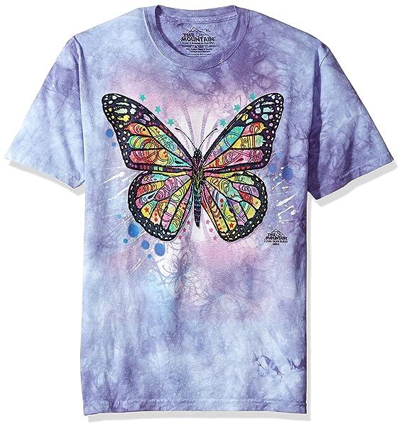 9e7c99804c437e Amazon.com: The Mountain Kid's Butterfly T-Shirt: Clothing