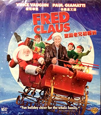 Amazon com: FRED CLAUS VCD BY WARNER BROS  IN ENGLISH W/ CHINESE