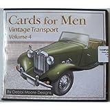 Debbi Moore Designs Cards for Men Vintage Transport Volume 4 CD Rom (296399)