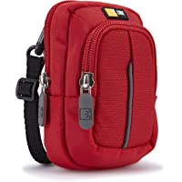 Case Logic DCB302R Etui avec Stockage en nylon pour Appareil photo compact Rouge