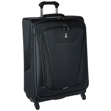 Travelpro Maxlite 4 25  Expandable Spinner, Black