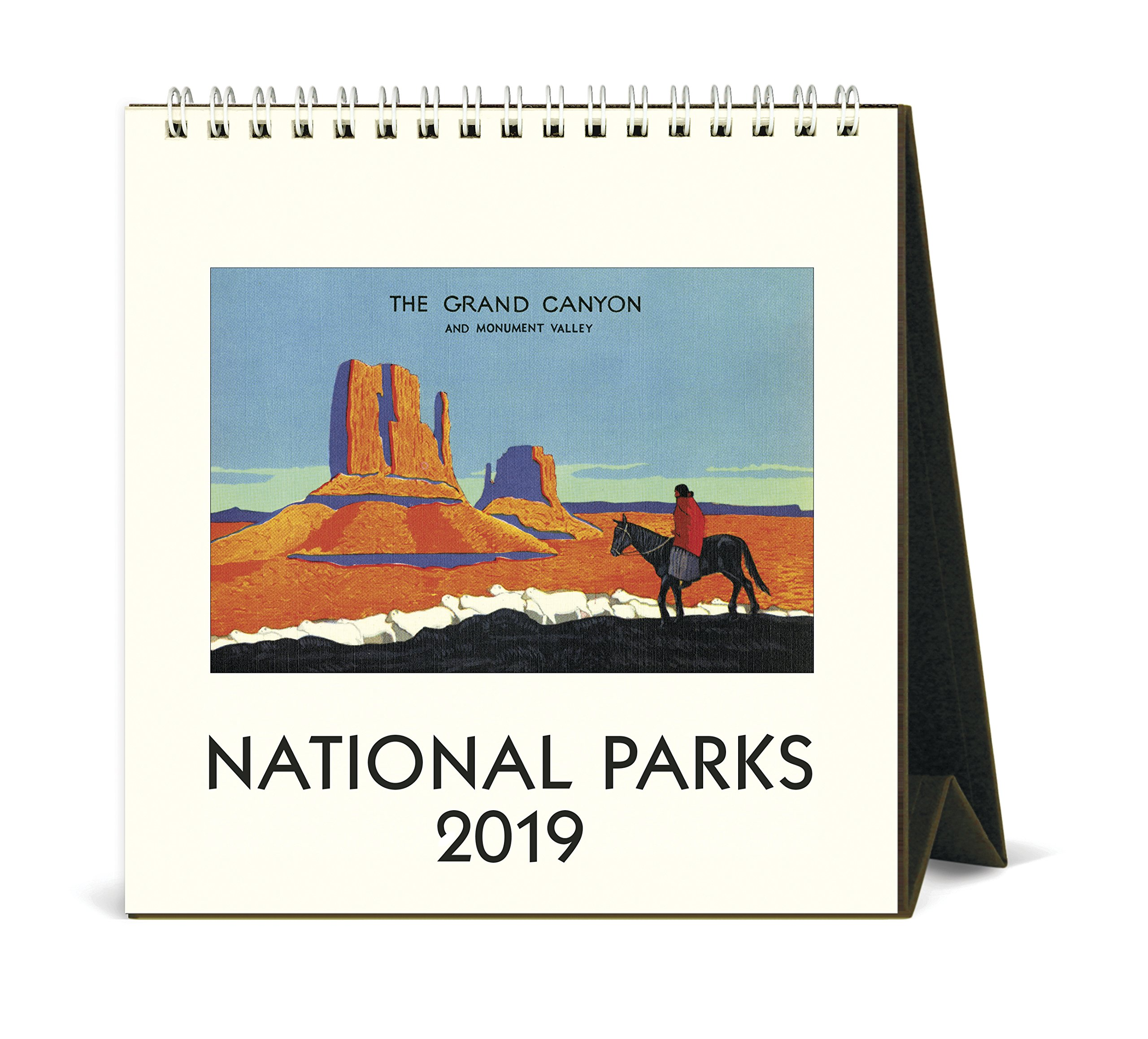 Cavallini Papers & Co., Inc. CAL19-5 Desk Calendar National Parks, Multi