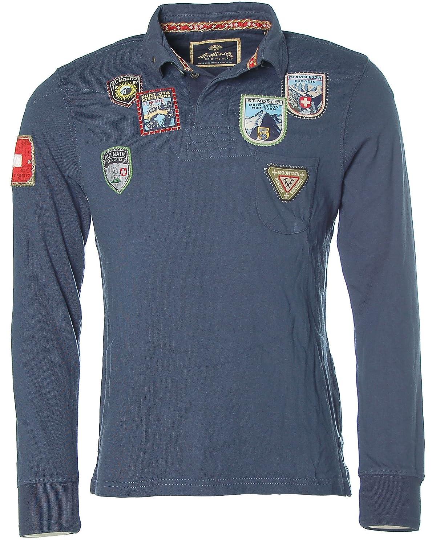 St. Moritz - Camiseta de manga larga - Polo - Manga Larga - para ...