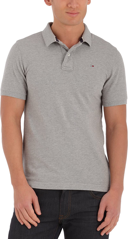 Tommy Hilfiger Hilfiger - Camisa polo de manga corta para hombre ...