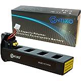 Genuine Contixo Rechargeable LiPo Battery - 7.4V 2100mAh LiPo Battery for Contixo F18 Quadcopter Drone (1-Pack)