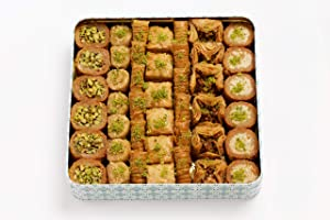 Al Bohsali 1870- Premium Baklava Mix 41 Pieces