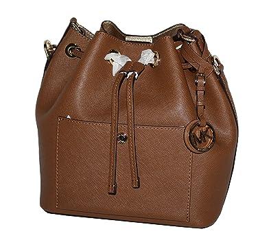 6f089ed2a894 ... norway michael michael kors greenwich womens shoulder medium bucket bag  handbag luggage gold ac685 7e62a