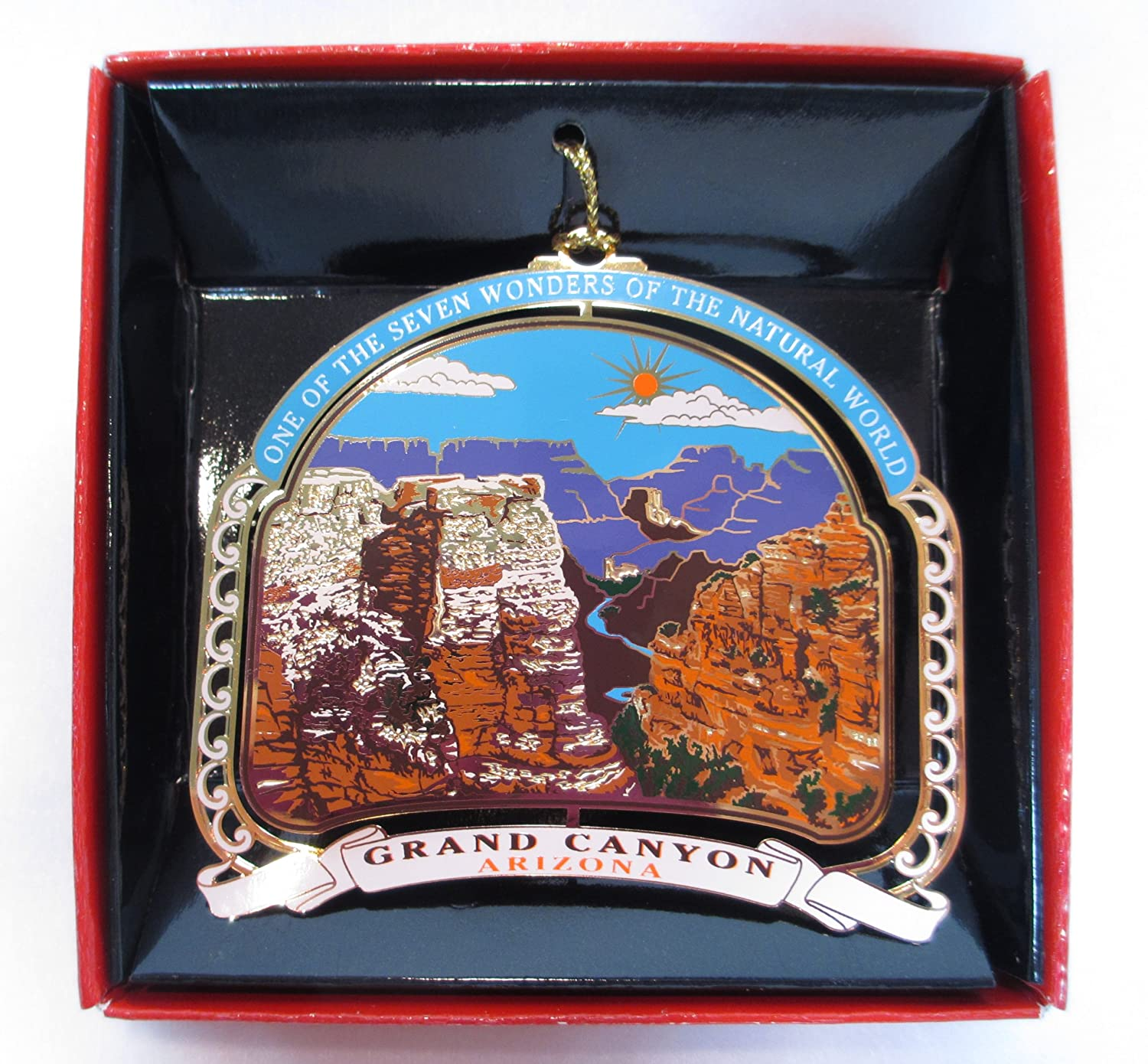 4f053f66dc Nations Treasures Grand Canyon ORNAMENT Christmas Color Brass ...