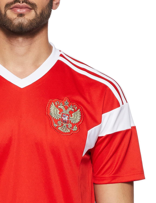 96066d3c72e Amazon.com : adidas Russia Home Jersey 2018/2019 : Clothing