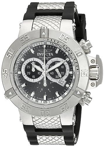 Invicta 5511 - Reloj de Cuarzo para Hombres, Color Negro