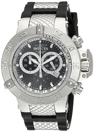 Invicta 5511 - Reloj de cuarzo para hombres, color negro: Invicta: Amazon.es: Relojes