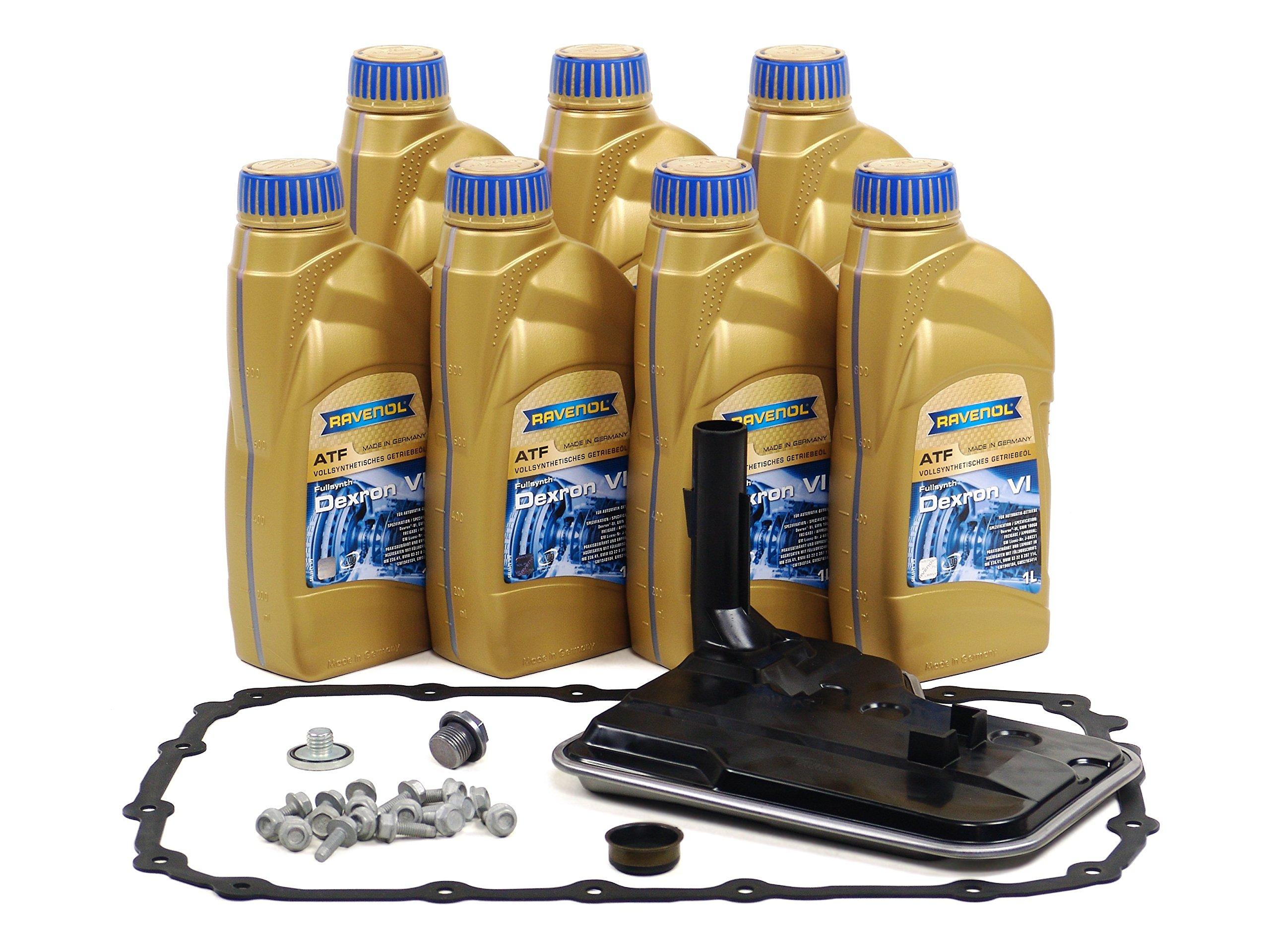 BLAU F2A1333-C BMW X3 ATF Automatic Transmission Fluid Filter Kit - E83 - 2007-10 w/ 6 Speed Automatic GA6L45R